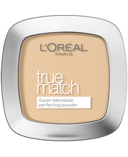 Loreal True Match Puuteri W1 Golden Ivory