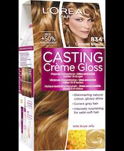 L'Oréal Paris Casting Crème Gloss 834 Caramel Blonde Luonnonvaalea Kuparikulta Kevytväri