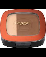 L'Oréal Paris Glam Bronze Powder Duo 102 aurinkopuuteri