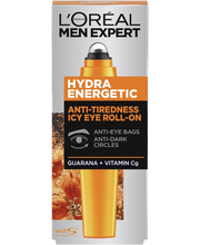 L'Oréal Paris Men Expert 10ml Hydra Energetic Viilentävä roll-on silmänympärysiholle