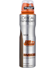 L'Oréal Paris Men Expert 150ml Deo Spray Invincible 96h Anti-Perspirant