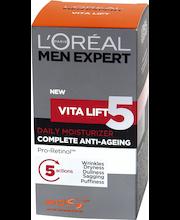 L'Oréal Paris Men Expert 50ml Vitalift 5 kosteusvoide ikääntymisen merkkeihin