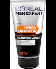 L'Oréal Paris Men Expert 150ml Hydra Energetic X Magnetic Charcoal puhdistusgeeli