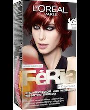 L'Oreal Paris Feria Preference 4.66 Pure Ruby Intensiivinen syvä punainen Kestoväri