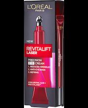 L'Oréal Paris 15ml Revitalift Laser edistyksellinen anti-age silmänympärysvoide