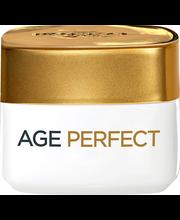 L'Oréal Paris 15ml Age Perfect kosteuttava silmänympärysvoide ikääntyvälle iholle