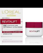 L'Oréal Paris 15ml Revitalift ryppyjä silottava ja ihoa kiinteyttävä silmänympärysvoide