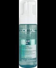L'Oréal Paris Sublime Fresh Deep Pure Foaming Water puhdistusvaahto 150 ml