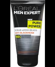 L'Oréal Paris Men Expert 150ml Pure Power Kuorintavoide epäpuhtauksia vastaan