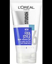 L'Oréal Paris Studio Line 150ml Fix&Style Vitamin Enriched Gel Vahva muotoilugeeli, 4/10