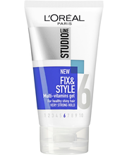 L'Oréal Paris Studio Line 150ml Fix&Style Multi-vitamins Gel Erittäin vahva muotoilugeeli, 6/10