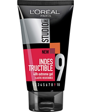 L'Oréal Paris Studio Line 150ml Indestructible Gel 48h extreme gel ultravoimakas hiusgeeli, 9/10