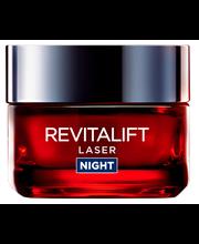 L'Oréal Paris  50ml Revitalift Laser edistyksellinen anti-age yövoide