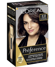 L'Oréal Paris Préférence Infinia 3.12 St Honoré Intense Cold Dark Brown Viileä tummanruskea kestoväri