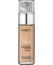 L'Oréal Paris True Match 1.W Ivory Gold meikkivoide