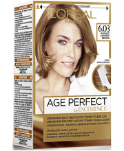 L'Oréal Paris Age Perfect by Excellence 6.03 Radiant Lightest Brown Lämmin vaaleanruskea kestoväri