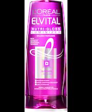L'Oréal Paris Elvital 200ml Nutri-gloss Luminizer hoitoaine normaaleille ja kiillottomille hiuksille