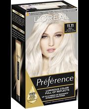 L'Oréal Paris Préférence Blondissimes 11.11 Ultra Light erittäin kirkas viileä