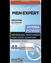 L'Oréal Paris Men Expert 50ml Hydra Power virkistävä geelimäinen kosteusvoide kasvoille