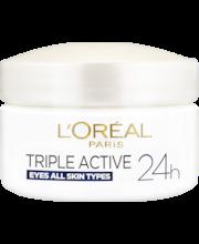 L'Oréal Paris 15ml Triple Active Eye Cream silmäynmpärysvoide