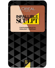 L'Oréal Paris 10g Infallible 24H Sculpt Contouring Medium Light -paletti