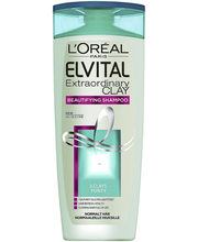 L'Oréal Paris Elvital 250ml Extraordinary Clay shampoo normaaleille hiuksille