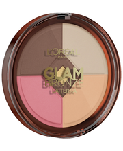 L'Oréal Paris Glam Bronze Healthy Glow paletti 01 Light Laguna