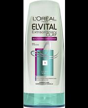 L'Oréal Paris Elvital 200ml Extraordinary Clay hoitoaine normaaleille hiuksille