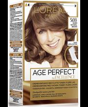 L'Oréal Paris Age Perfect by Excellence 5.03 Warm Natural Brown Lämmin ruskea kestoväri