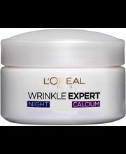 L'Oréal Paris Wrinkle Expert 55+ 50ml kiinteyttävä yövoide ryppyjä vastaan