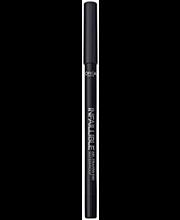 L'Oréal Paris Infaillible Gel Crayon 01 Back to Black -silmänrajauskynä