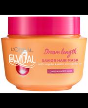 L'Oréal Paris Elvital 300ml Dream Length Savior Mask hiusnaamio pitkille ja vaurioituneille hiuksille