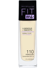 Maybelline Fit Me Luminous & Smooth 110 Porcelain -meikkivoide