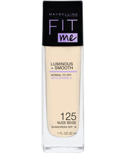 Maybelline Fit Me Luminous & Smooth 125 Nude Beige -meikkivoide