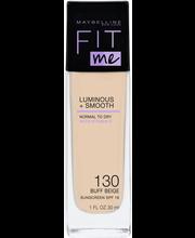 Maybelline Fit Me Luminous & Smooth 130 Buff Beige -mekkivoide