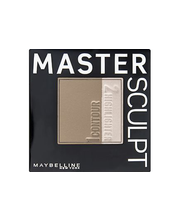 Maybelline Face Studio Master Sculpt 01 Light/Medium -korostus- ja varjostuspuuteri