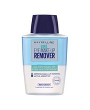 Maybelline 2in1 Eye Make-up Remover -silmämeikinpoistoaine 125ml