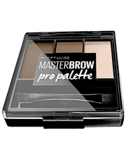 Maybelline New York Master Brow Pro Palette Soft Brown kulmienmuotoilusetti