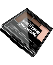 Maybelline New York Master Brow Pro Palette Deep Brown kulmienmuotoilusetti