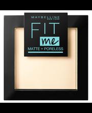 Maybelline New York Fit Me Matte + Poreless 105 -puuteri