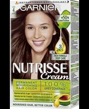 Garnier Nutrisse 4.0 Tummanruskea Hiusväri