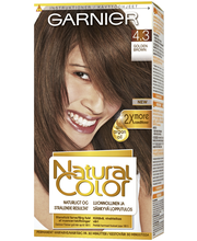 Garnier Natural Color 4.3 Golden Brown Kestoväri