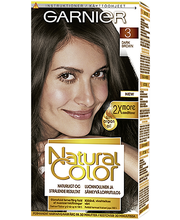 Garnier Natural Color 3 Dark Brown Kestoväri