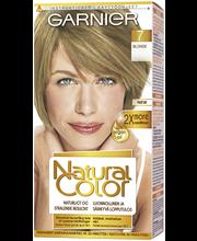 Garnier Natural Color 7 Blonde Kestoväri