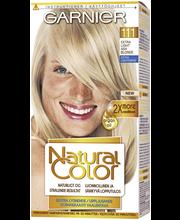 Garnier Natural Color 111 Extra Light Ash Blonde Kestoväri