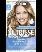 Garnier Nutrisse Truly Blonde -kestoväriraidat