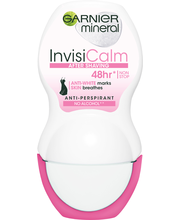 Garnier InvisiMineral Deodorant 50ml Calm Roll-on