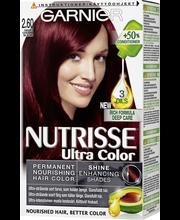 Garnier Nutrisse Ultra Color 2.60 Kirsikkainen Musta Kestoväri