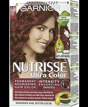 Garnier Nutrisse Ultra Color 6.60 Intensiivinen Punainen Kestoväri