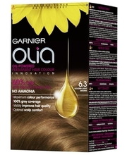 Garnier Olia 6.3 Golden Light Brown Vaalea Kullanruskea Kestoväri